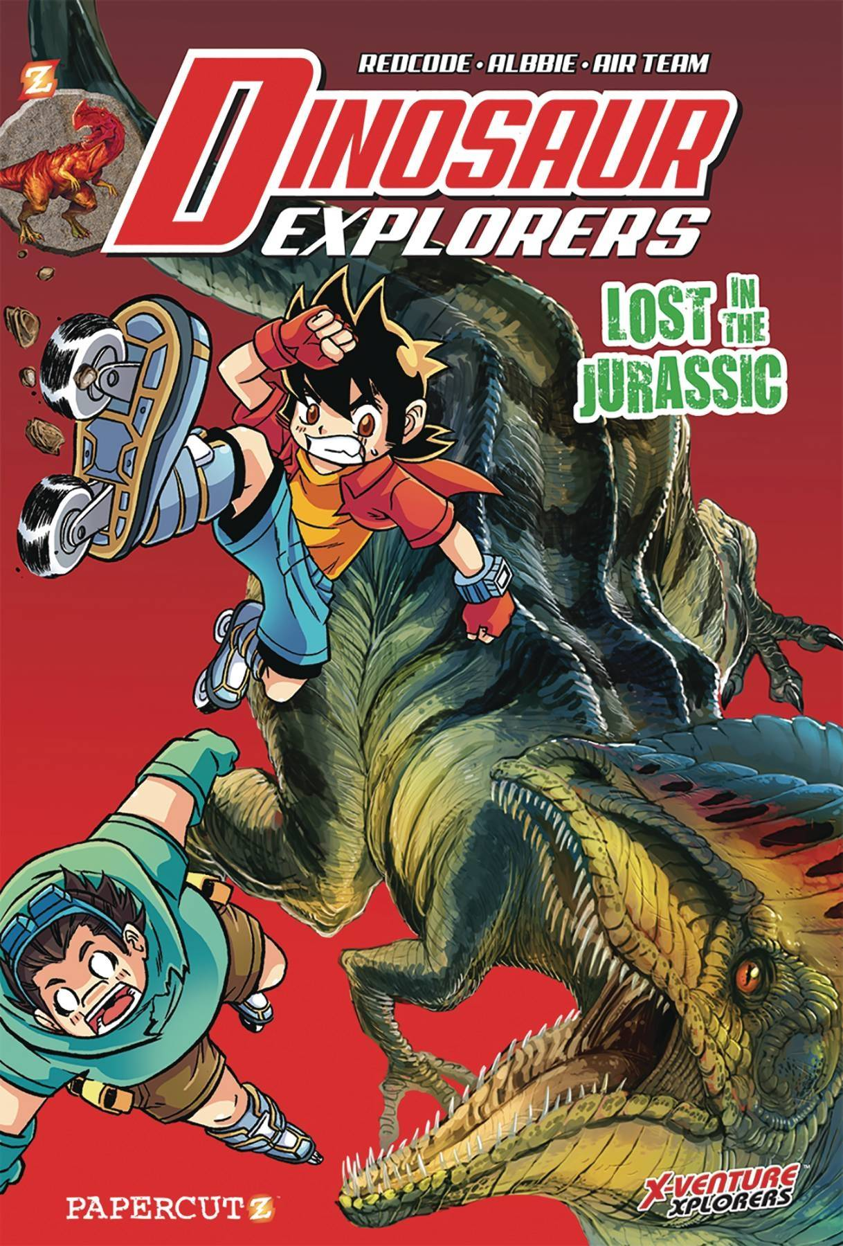 DINOSAUR EXPLORERS HC VOL 05 LOST IN JURASSIC