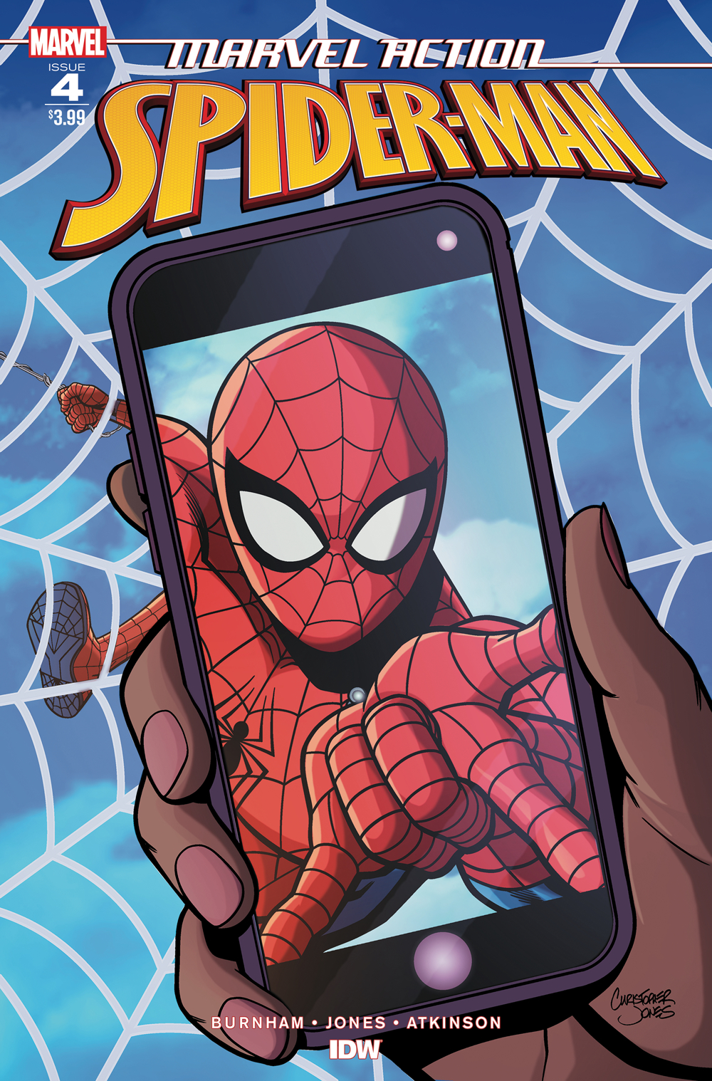 MARVEL ACTION SPIDER-MAN #4 JONES