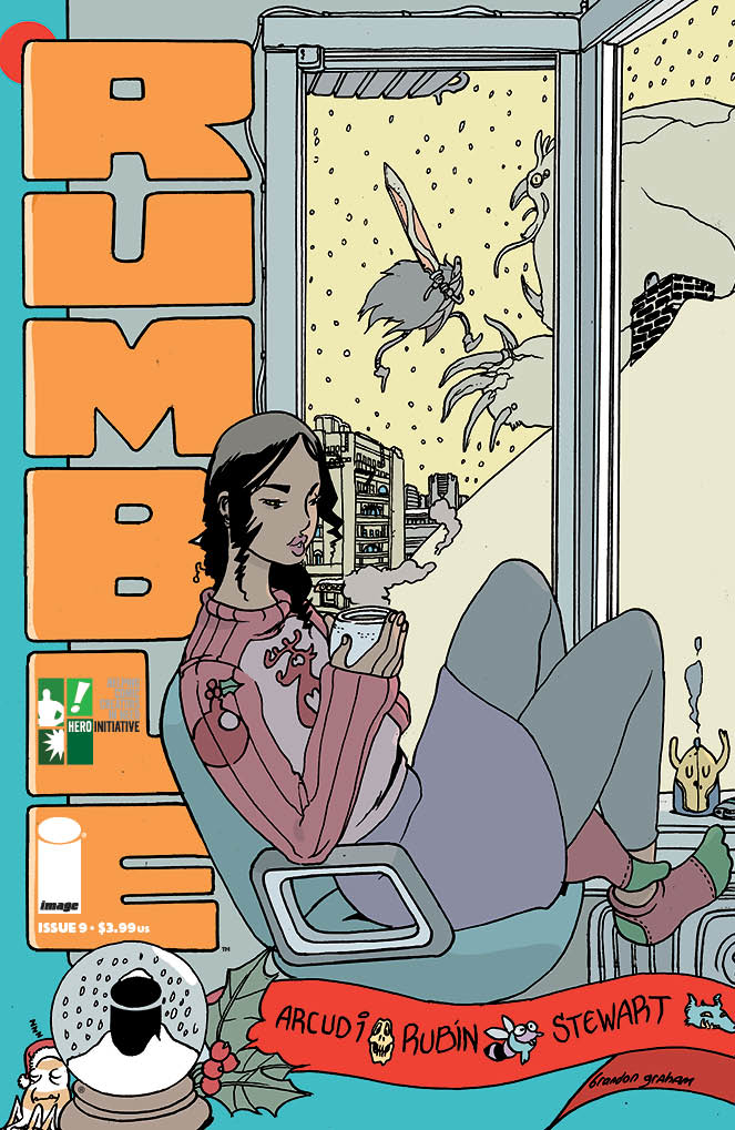 RUMBLE #10 CVR C HERO INITIATIVE VAR (MR)