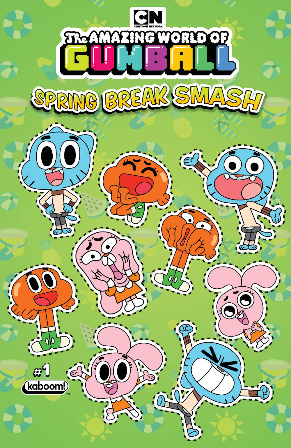 AMAZING WORLD GUMBALL SPRING BREAK SMASH #1 PREORDER