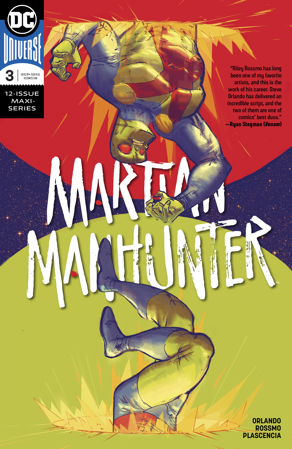 MARTIAN MANHUNTER #3 (OF 12)
