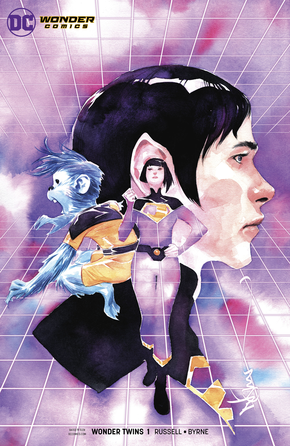 WONDER TWINS #1 (OF 6) VAR ED