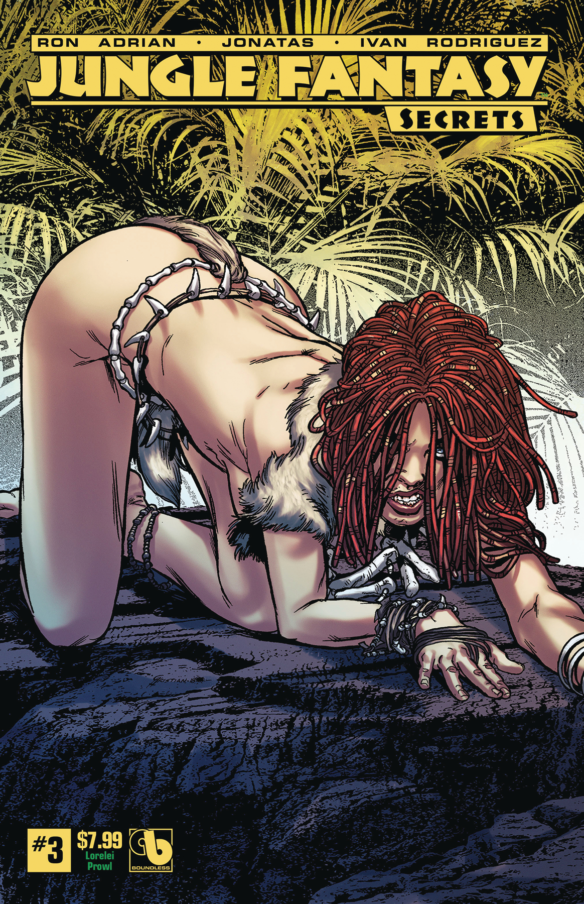 JUNGLE FANTASY SECRETS #3 LORELEI PROWL (MR)
