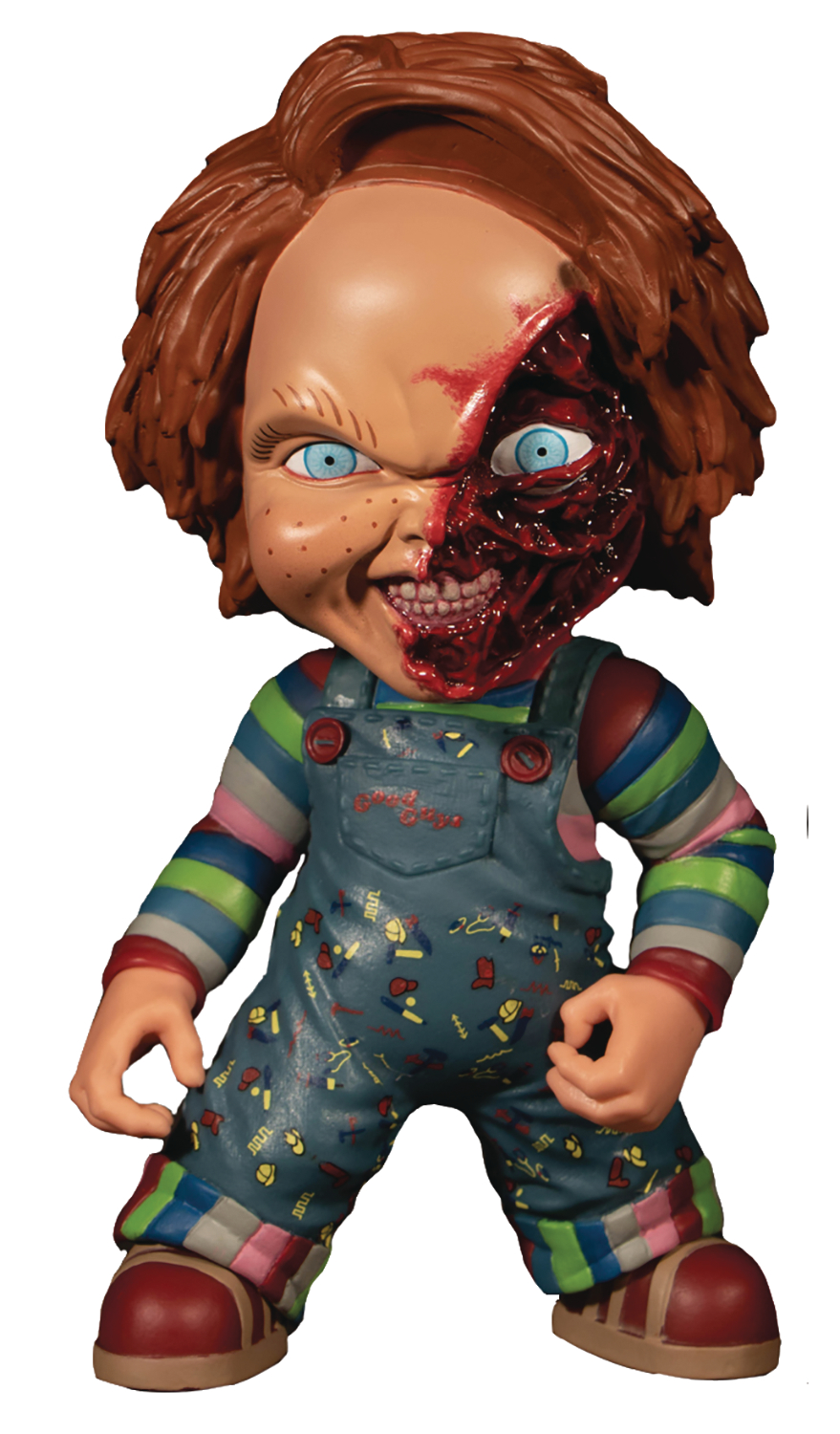 MEZCO DESIGNER SERIES CHILDS PLAY CHUCKY 6IN DELUXE FIGURE (