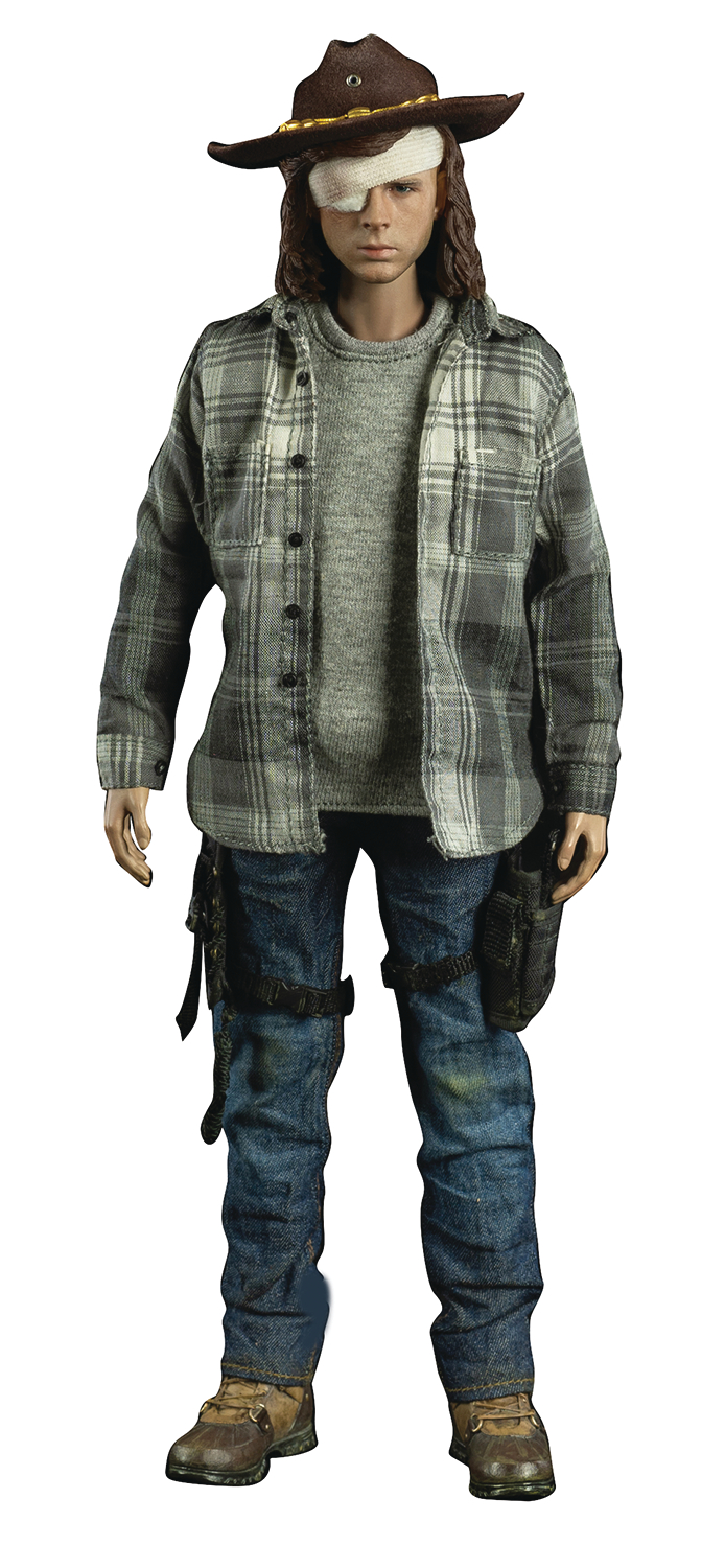 WALKING DEAD CARL GRIMES 1/6 SCALE FIG DLX ED