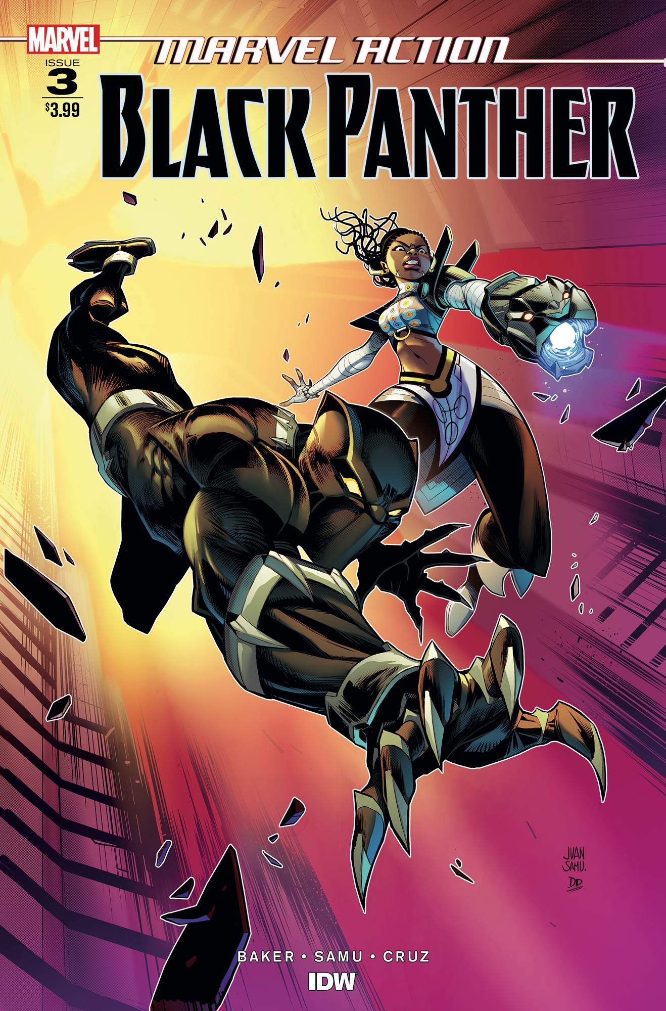 MARVEL ACTION BLACK PANTHER #3 SAMU