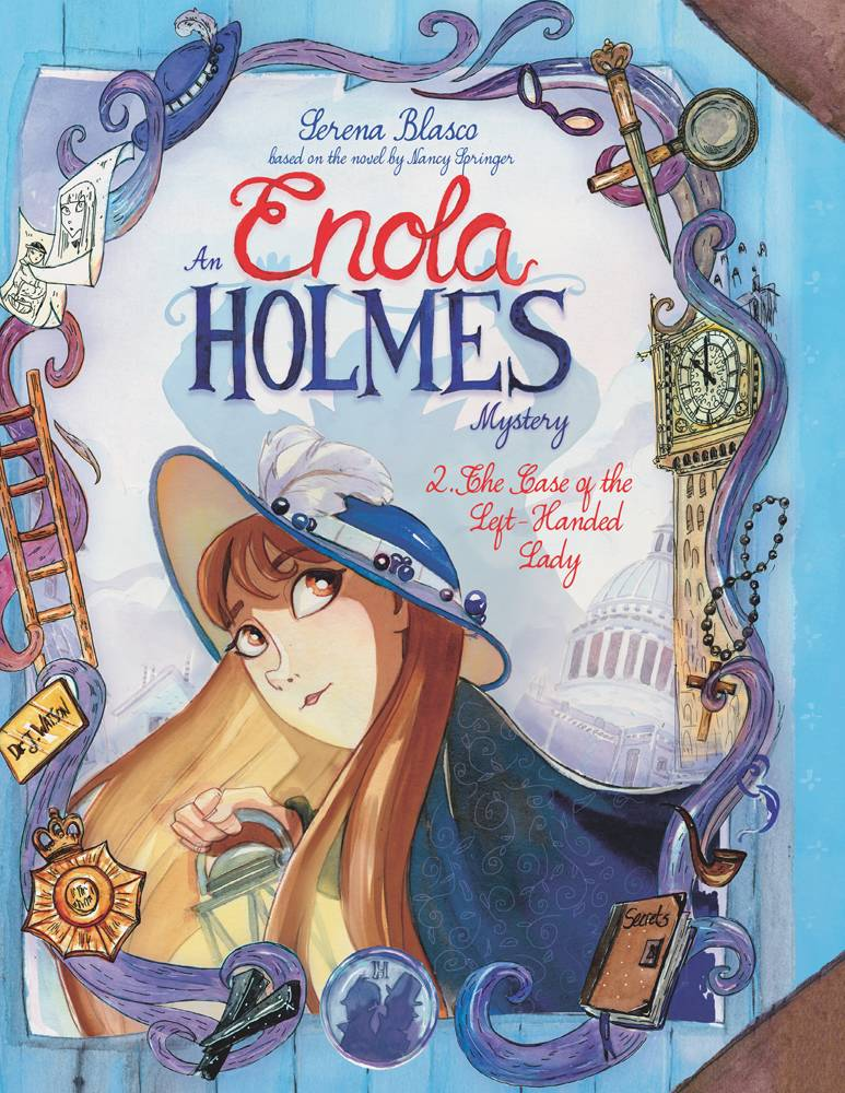 ENOLA HOLMES HC VOL 02 CASE OF LEFTHANDED LADY