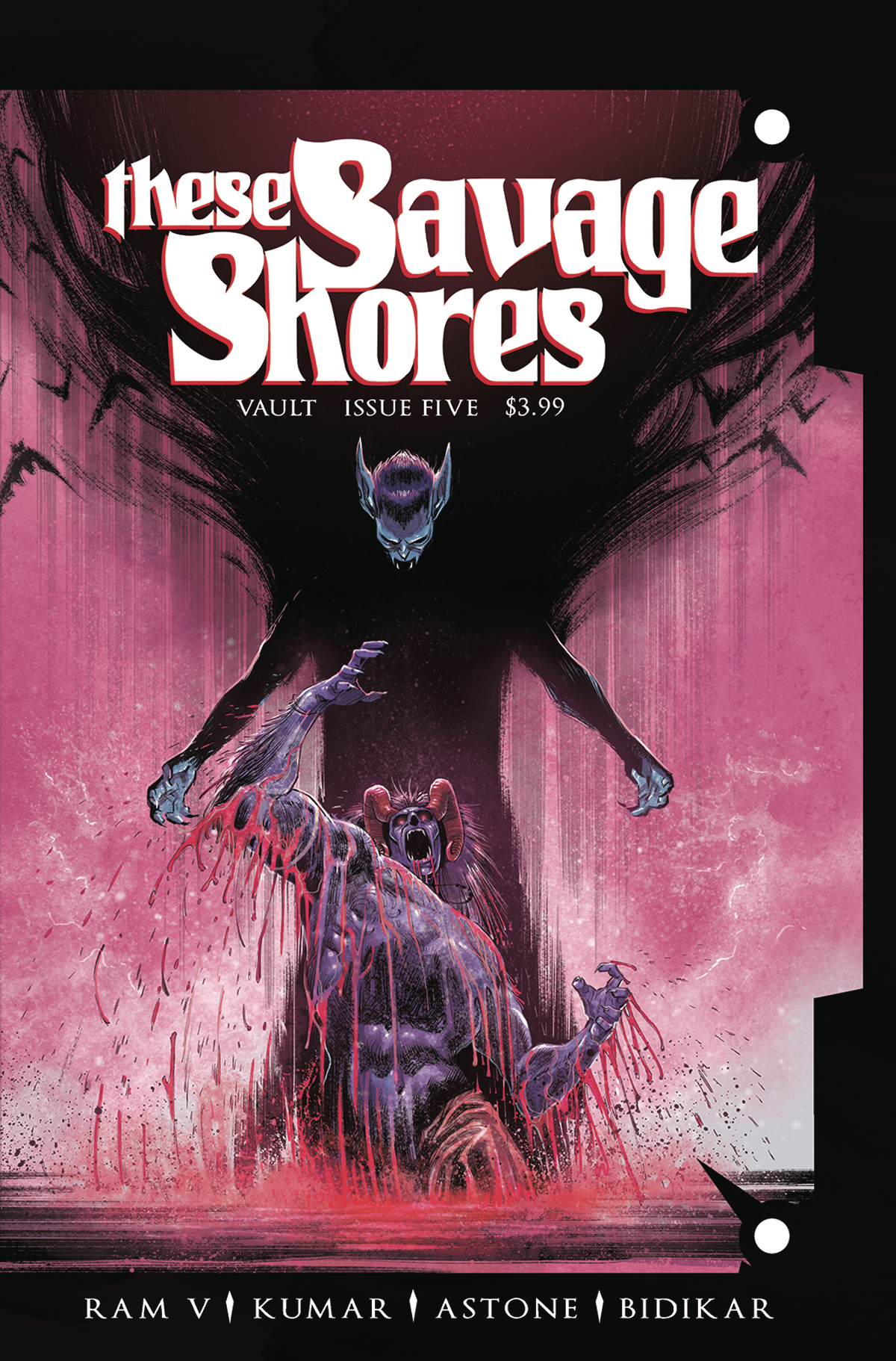 THESE SAVAGE SHORES #5 (MR)