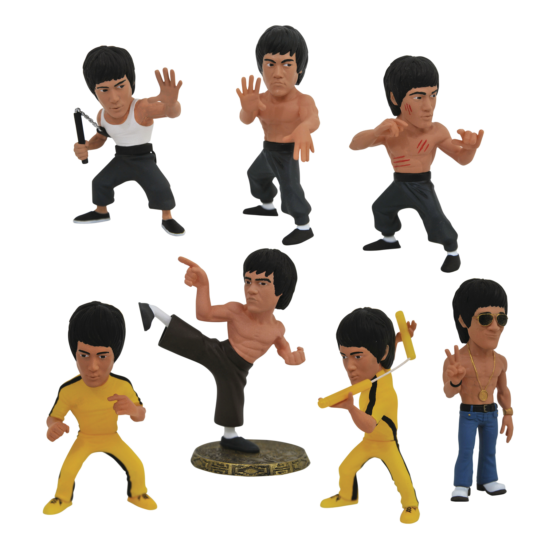 BRUCE LEE D-FORMZ BMB PVC 12CT DISPLAY
