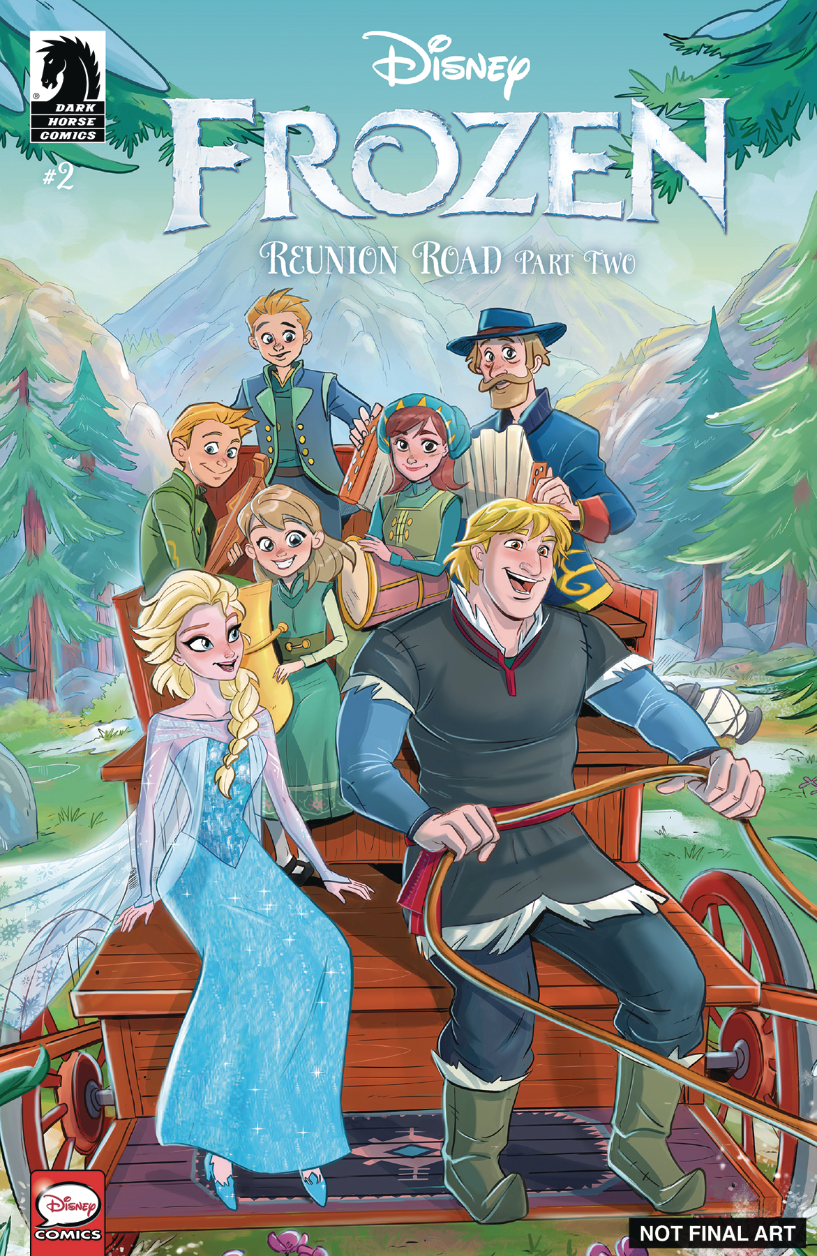 DISNEY FROZEN REUNION ROAD #2 CVR A RUSSO