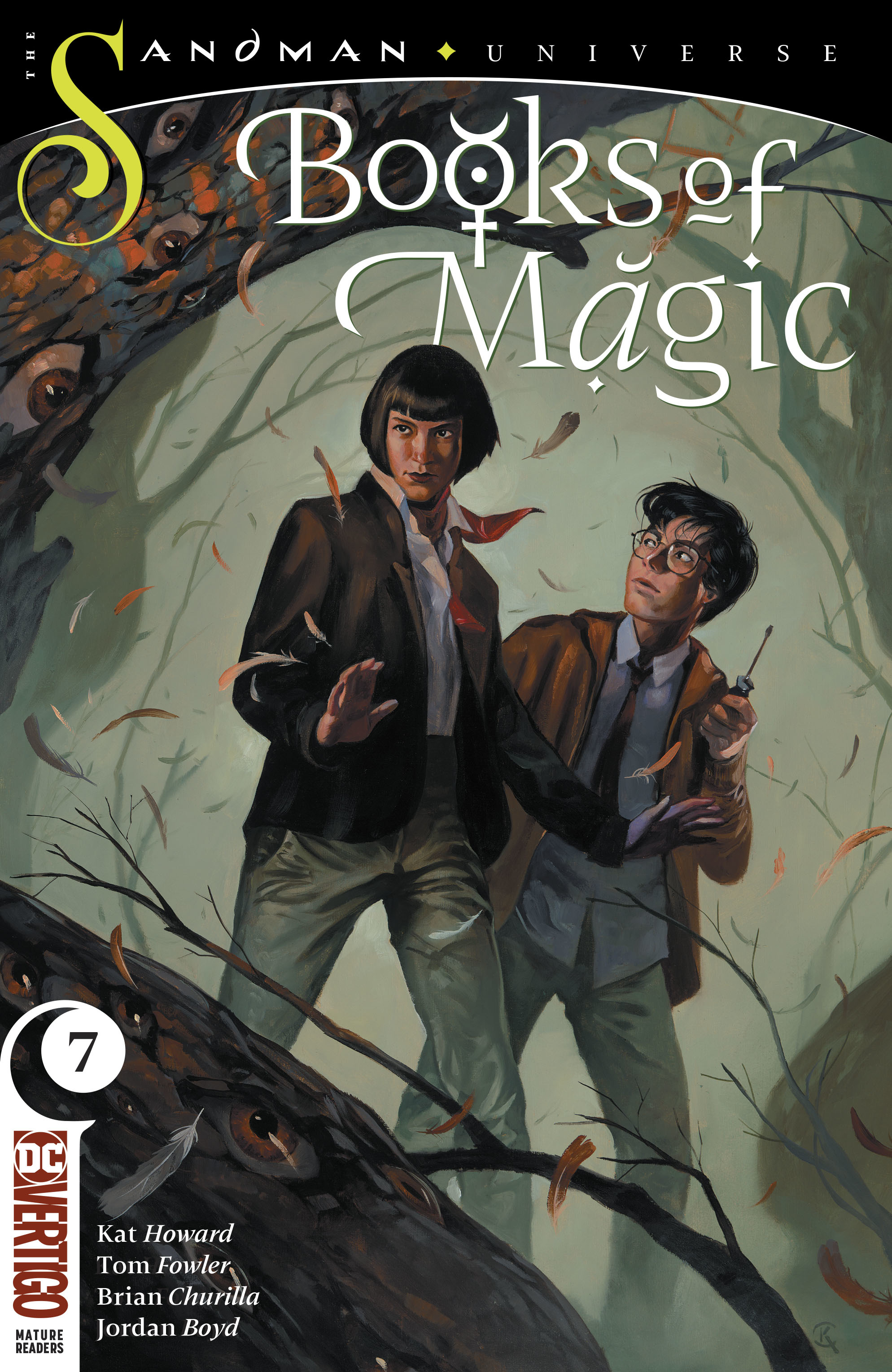 BOOKS OF MAGIC #7 (MR)