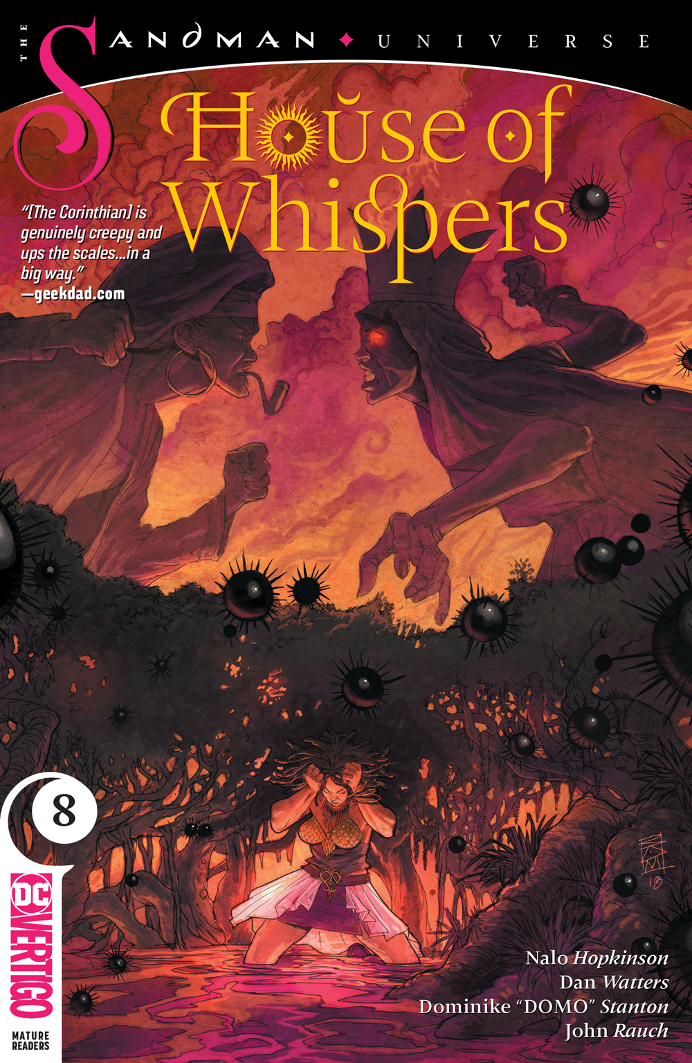 HOUSE OF WHISPERS #8 (MR)
