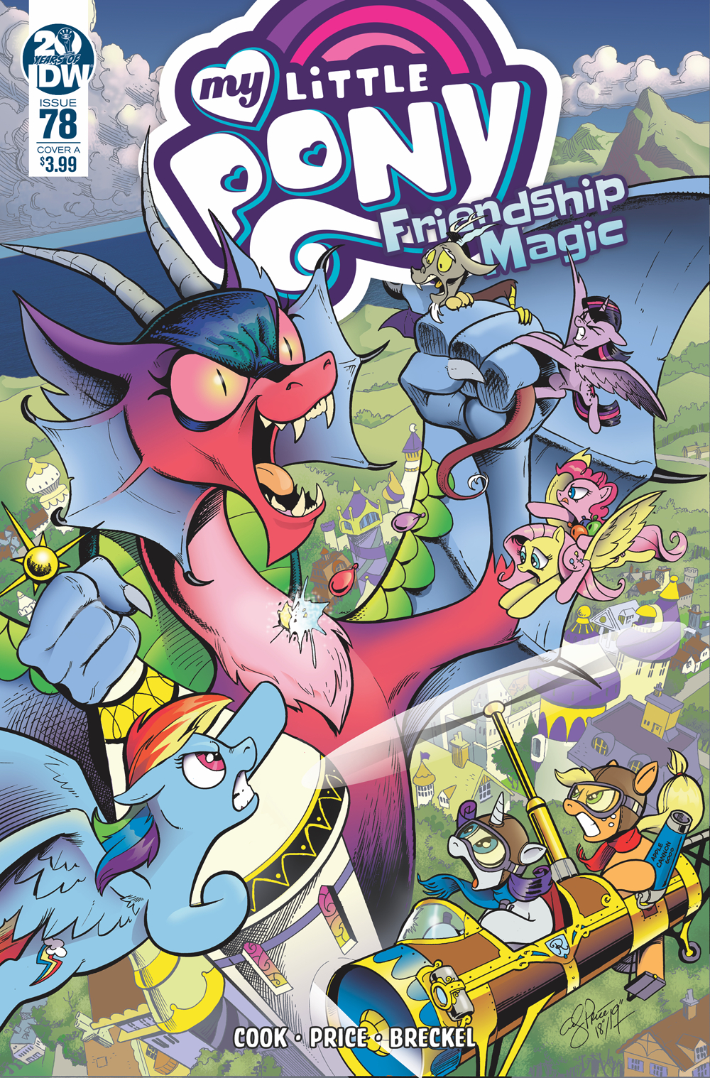 MY LITTLE PONY FRIENDSHIP IS MAGIC #78 CVR A PRICE