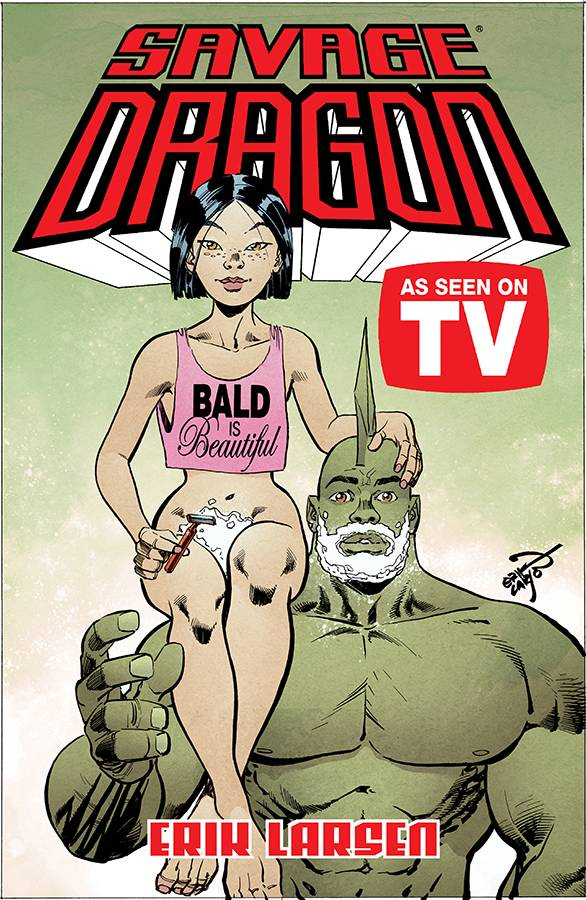 SAVAGE DRAGON AS SEEN ON TV TP (MAR190139) (MR)