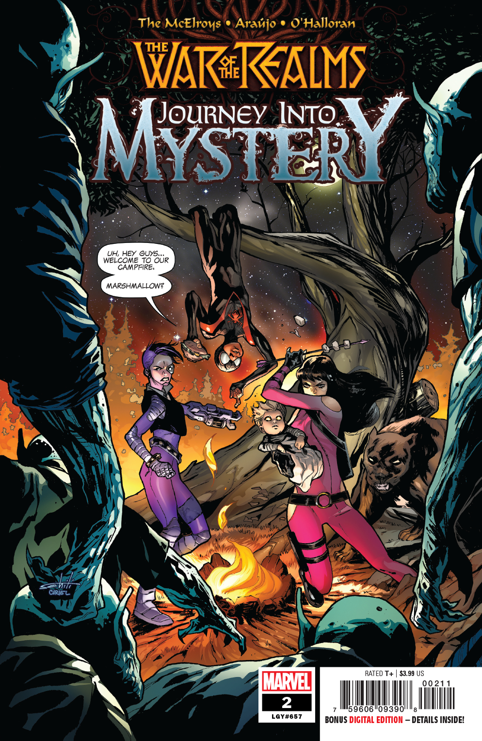 WAR OF REALMS JOURNEY INTO MYSTERY #2 (OF 5) WR