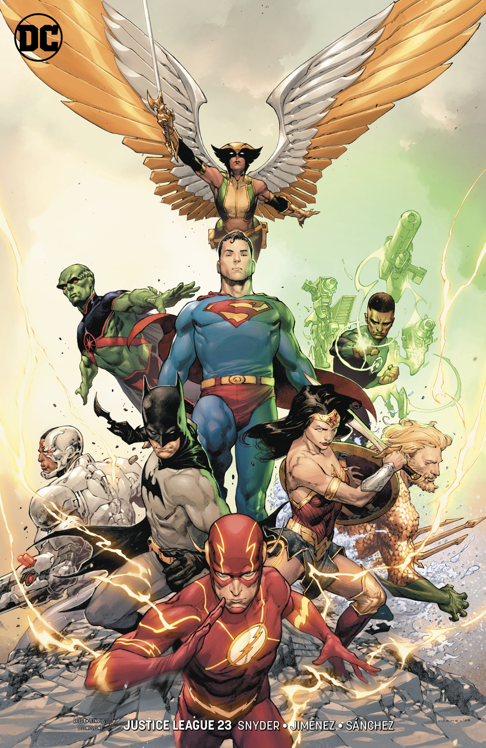 JUSTICE LEAGUE #23 VAR ED