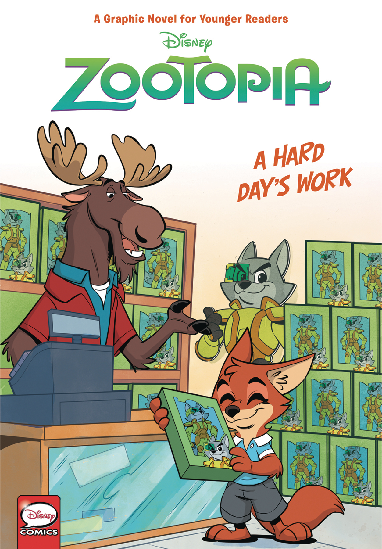 DISNEY ZOOTOPIA HC HARD DAYS WORK (YOUNGER READERS)