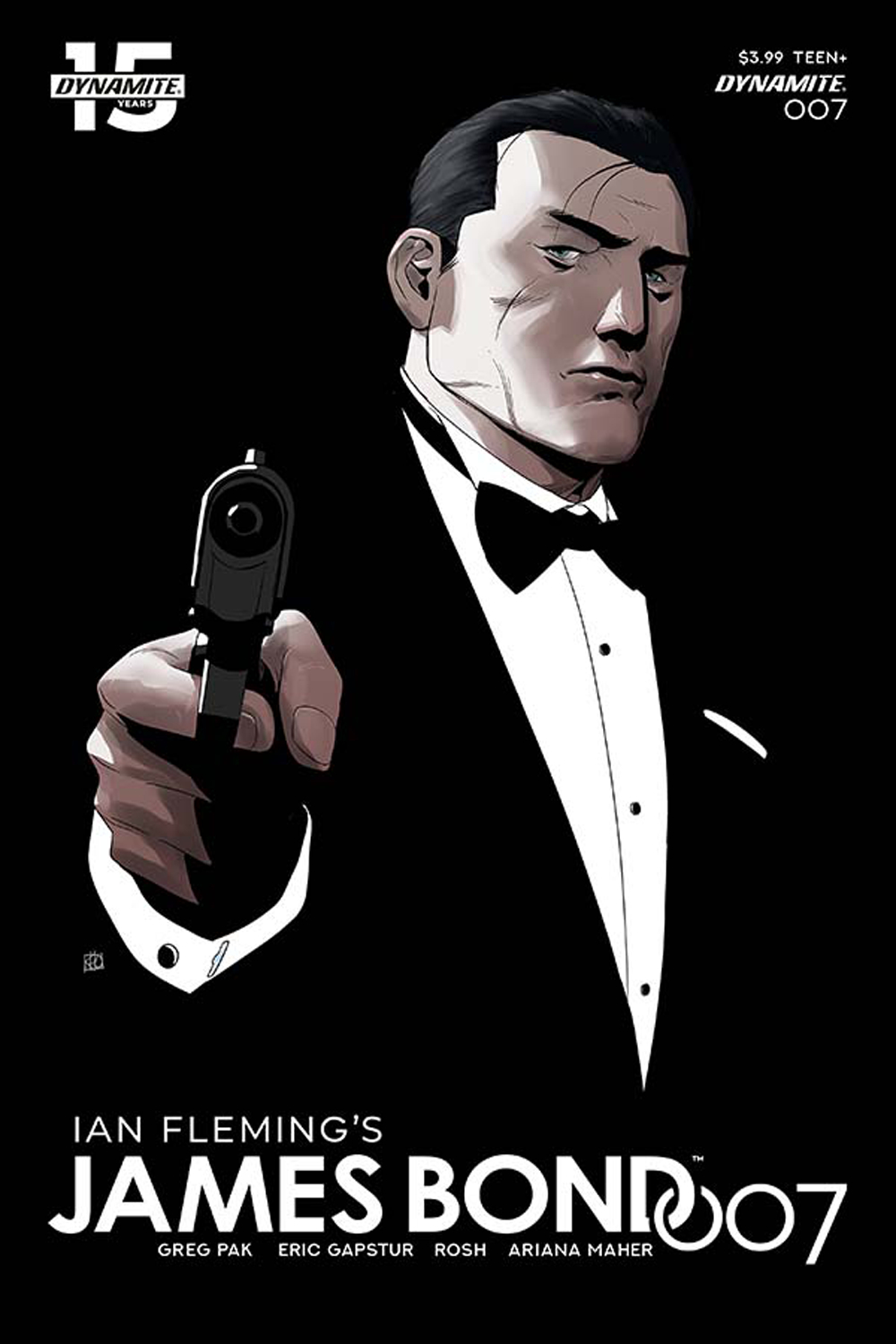 JAMES BOND 007 #7 CVR B PHAM