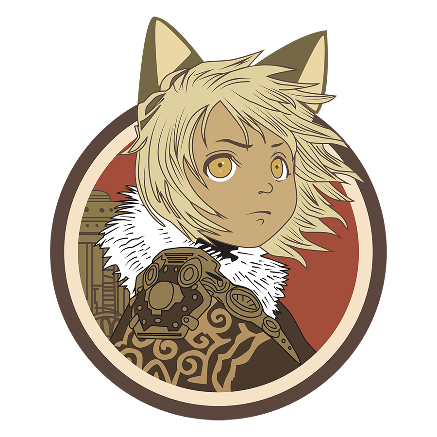 MONSTRESS KIPPA PIN (O/A)