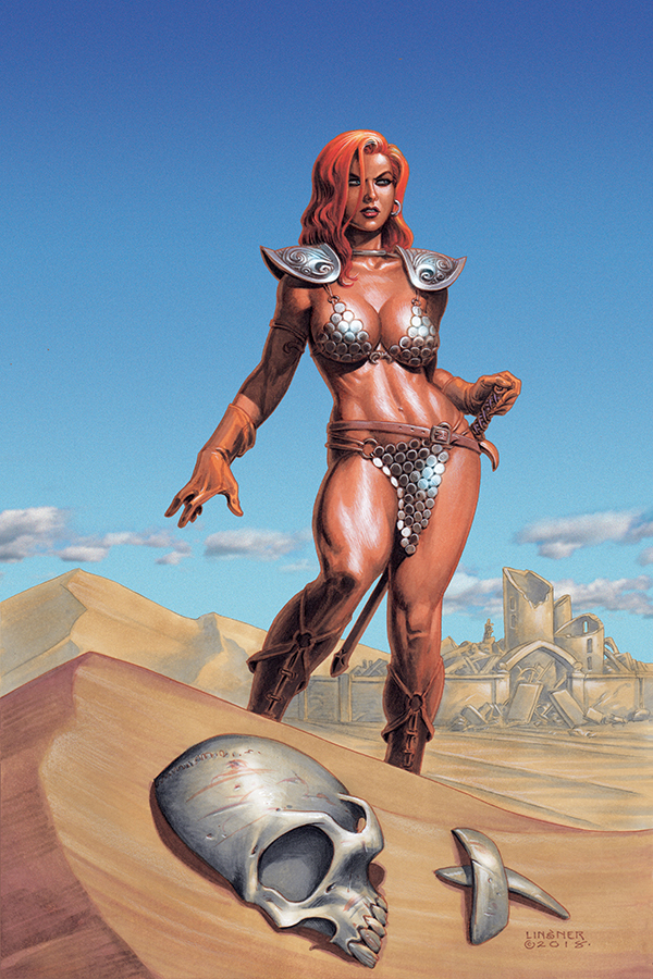 RED SONJA #2 LINSNER VIRGIN CVR