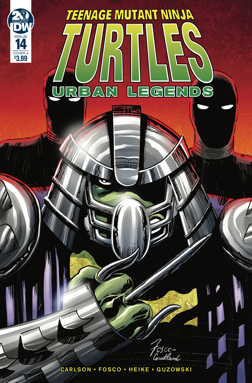 TMNT URBAN LEGENDS #14 CVR A FOSCO