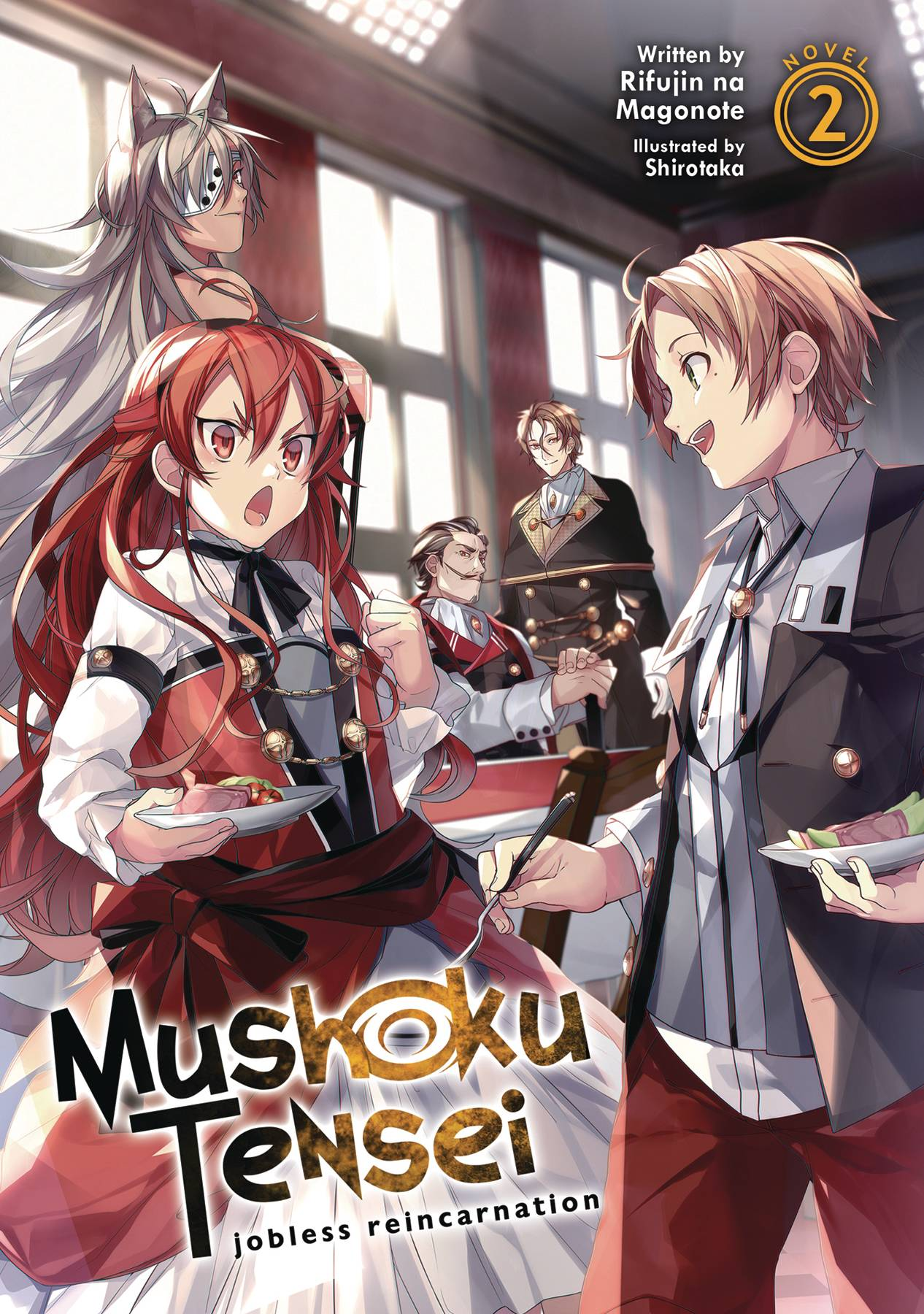 MUSHOKU TENSEI JOBLESS REINCARNATION LIGHT NOVEL SC VOL 02 (