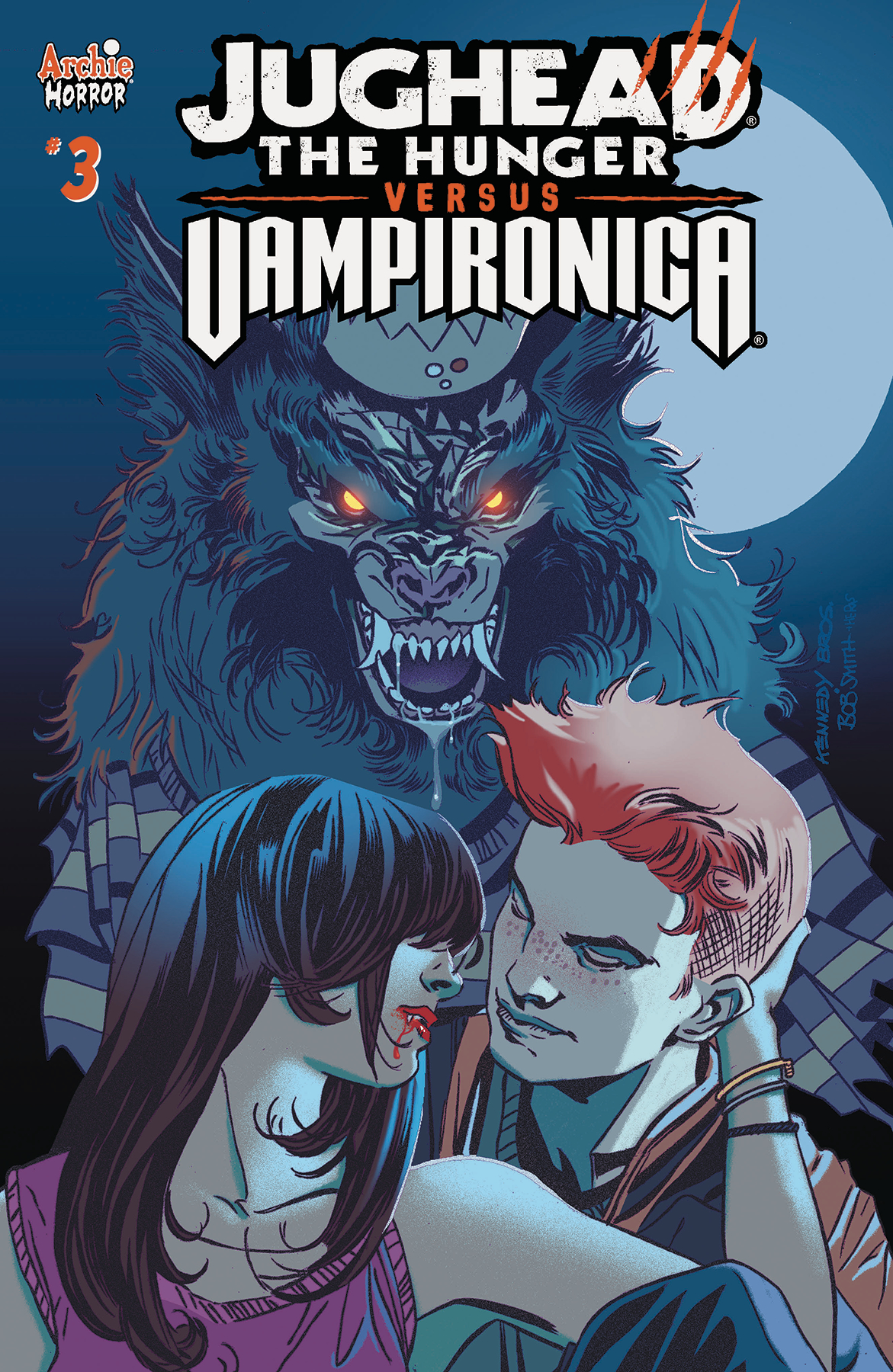 JUGHEAD HUNGER VS VAMPIRONICA #3 CVR A PAT & TIM KENNEDY (MR