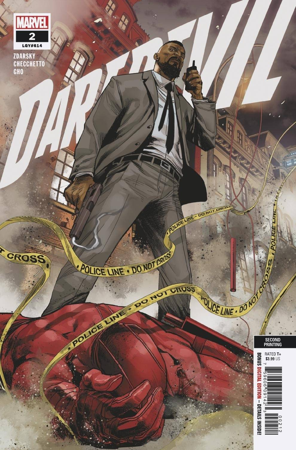 DAREDEVIL #2 2ND PTG CHECCHETTO VAR
