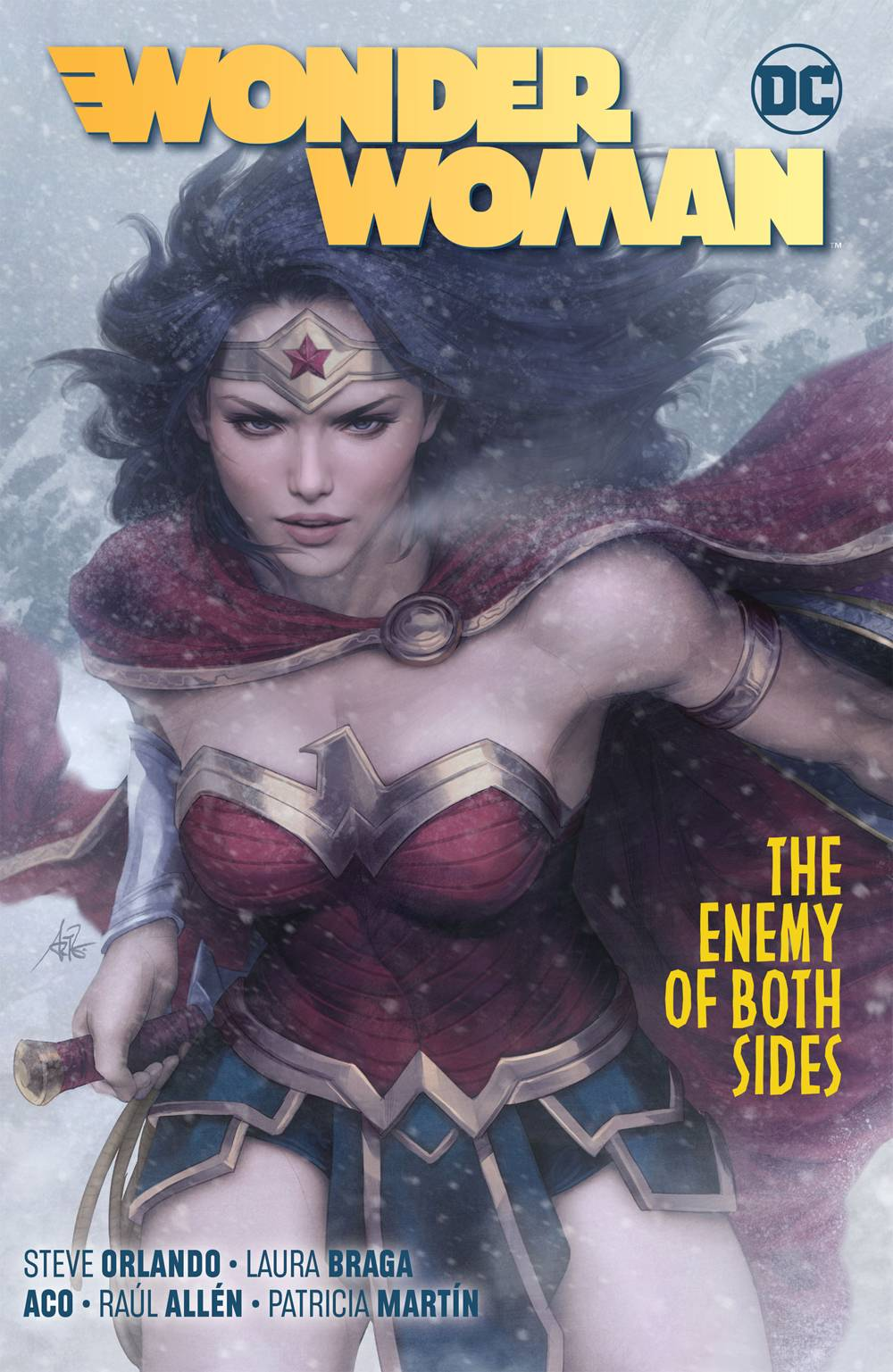 WONDER WOMAN TP VOL 09 THE ENEMY OF BOTH SIDES