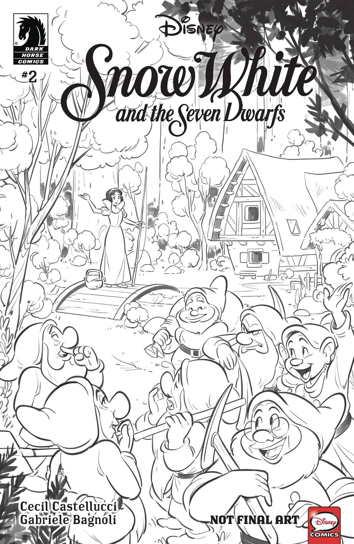 DISNEY SNOW WHITE AND SEVEN DWARFS #2 (OF 3)