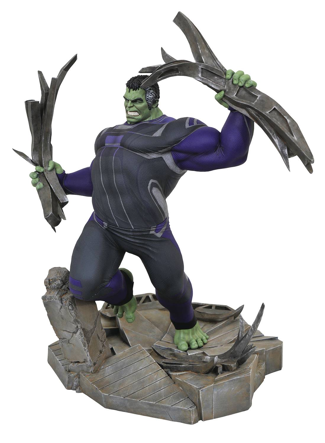 MARVEL GALLERY AVENGERS 4 TRACKSUIT HULK DLX PVC FIG