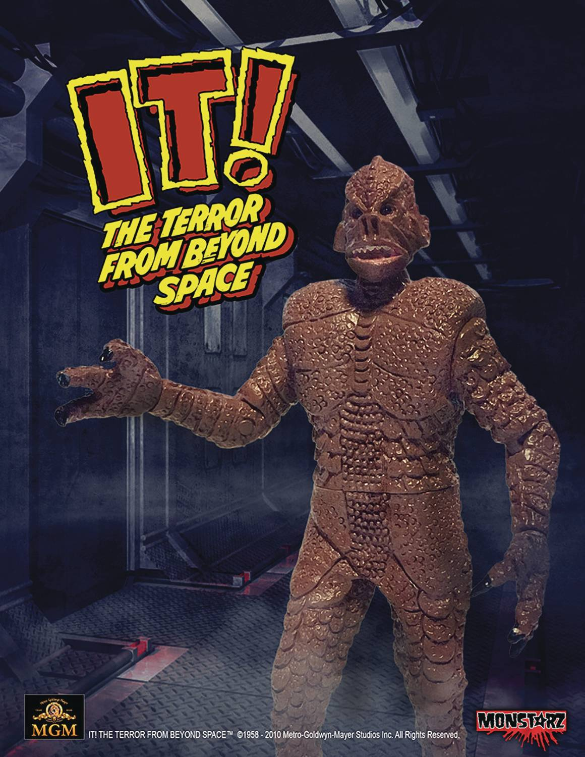 IT TERROR FROM BEYOND SPACE RED 3-3/4IN RETRO AF