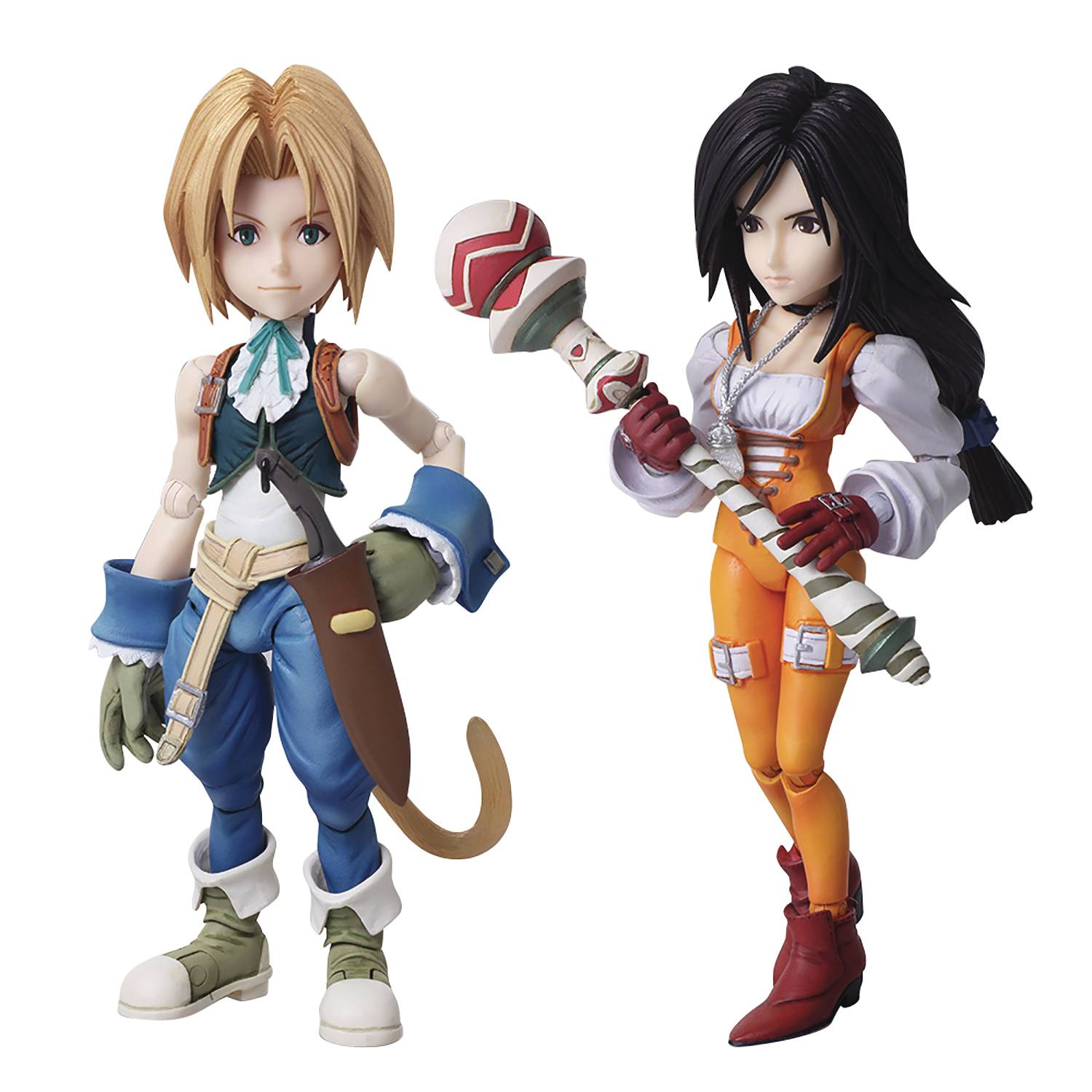 FINAL FANTASY IX BRING ARTS ZIDANE & GARNET AF SET