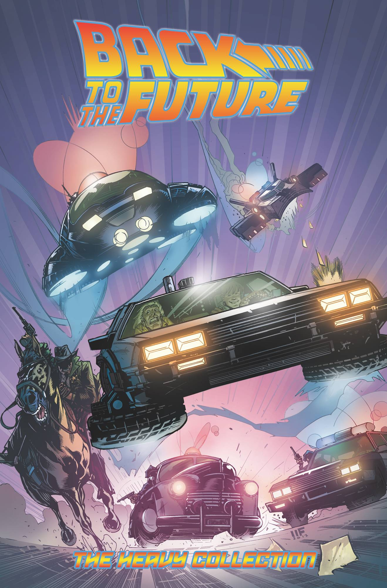BACK TO THE FUTURE THE HEAVY COLL TP VOL 02