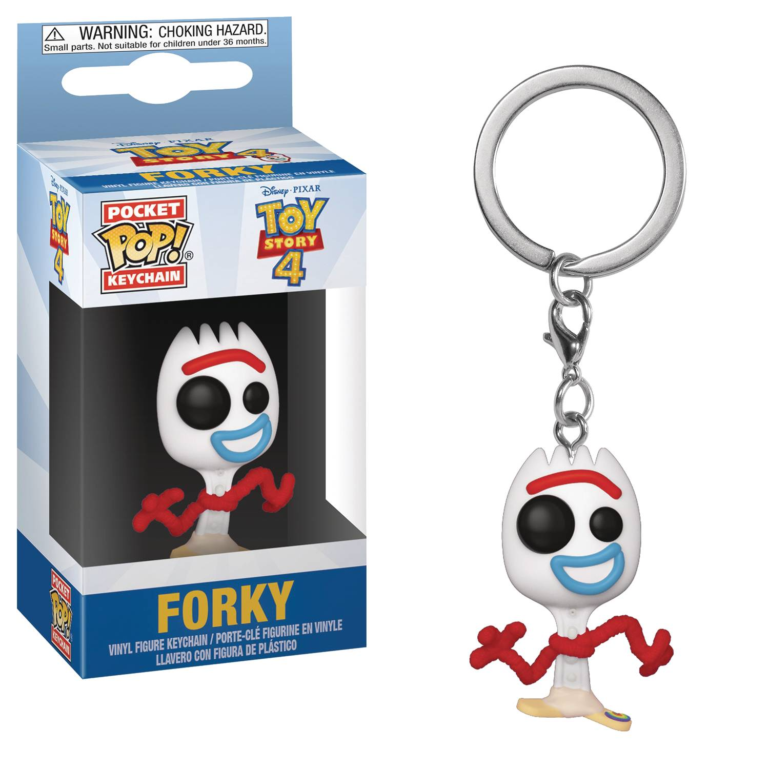 POCKET POP TOY STORY 4 FORKY KEYCHAIN