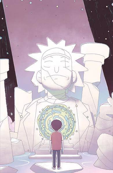 RICK & MORTY #53 CVR B SMART