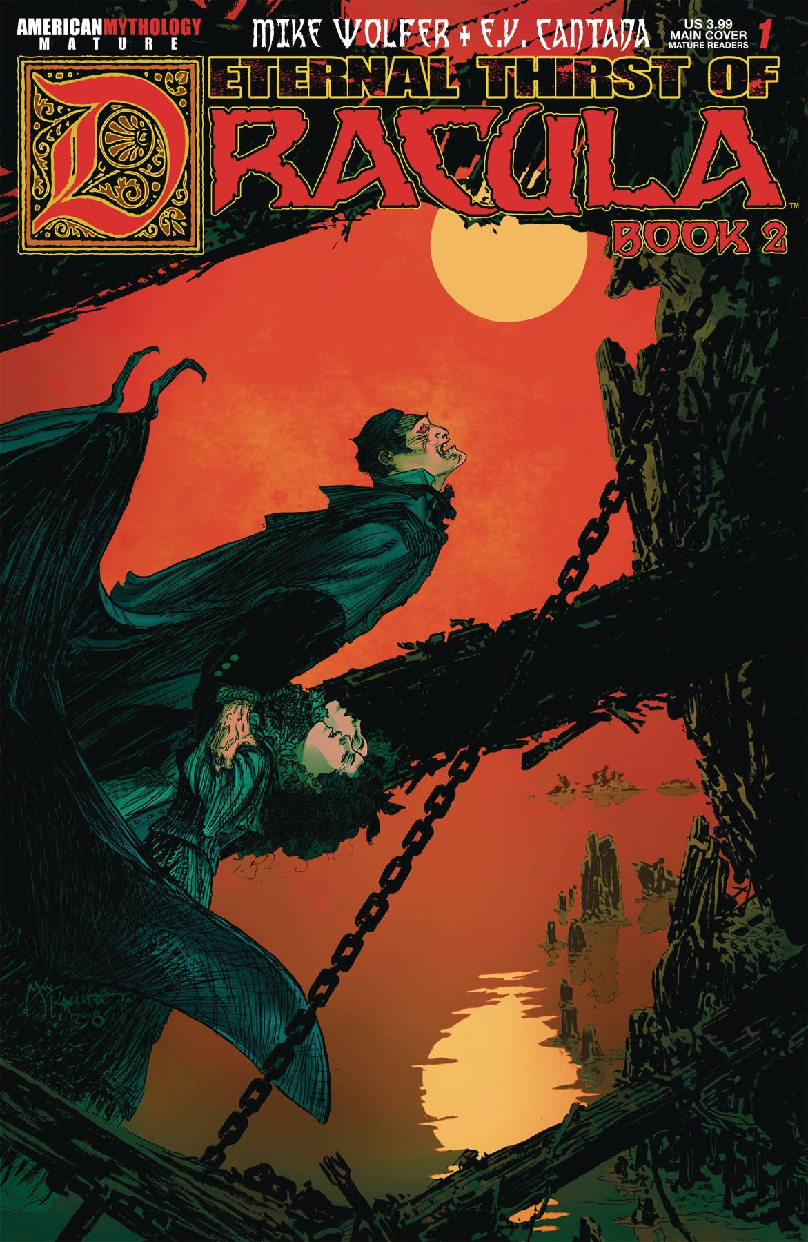 ETERNAL THIRST OF DRACULA 2 #1 (MR)