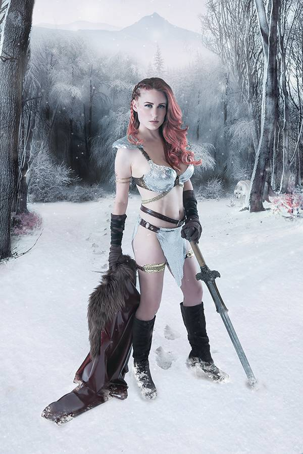 RED SONJA BIRTH OF SHE DEVIL #3 30 COPY COSPLAY VIRGIN INCV