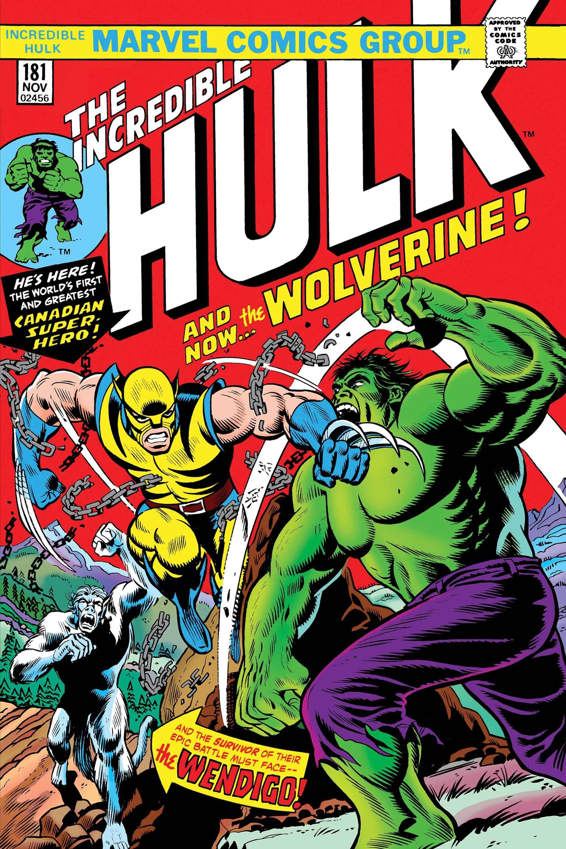 INCREDIBLE HULK #181 FACSIMILE EDITION NEW PTG