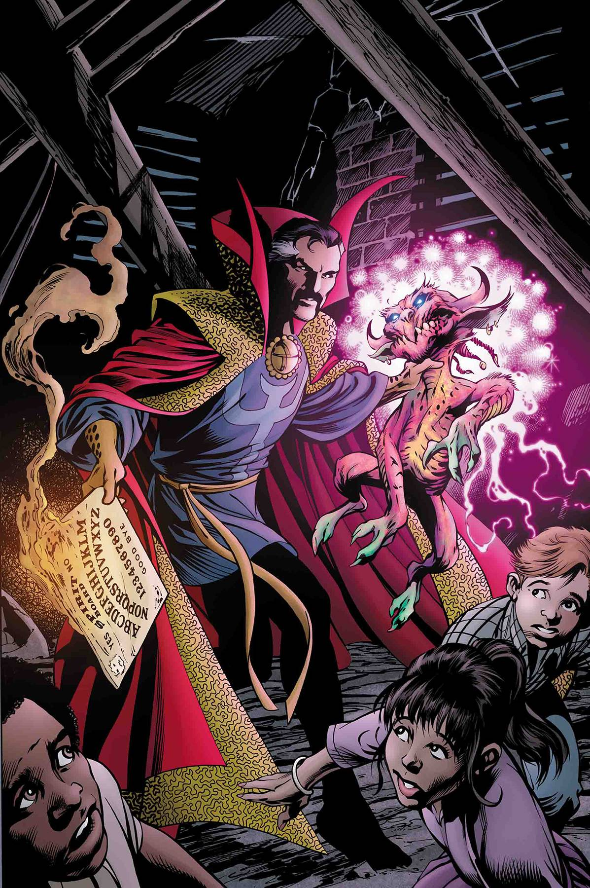 DOCTOR STRANGE #18 DAVIS MARVELS 25TH TRIBUTE VAR