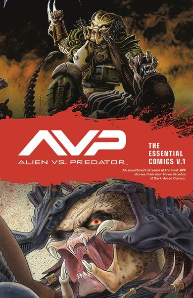 ALIENS VS PREDATOR ESSENTIAL COMICS TP VOL 01 (MR)