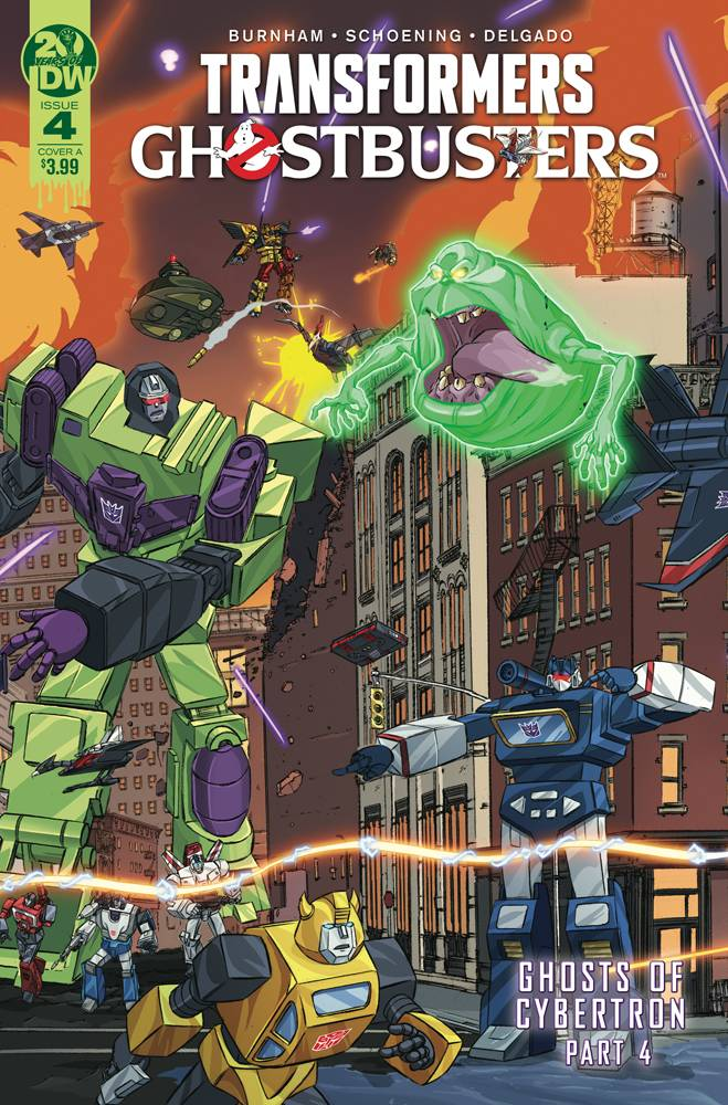 TRANSFORMERS GHOSTBUSTERS #4 (OF 5) CVR A SCHOENING