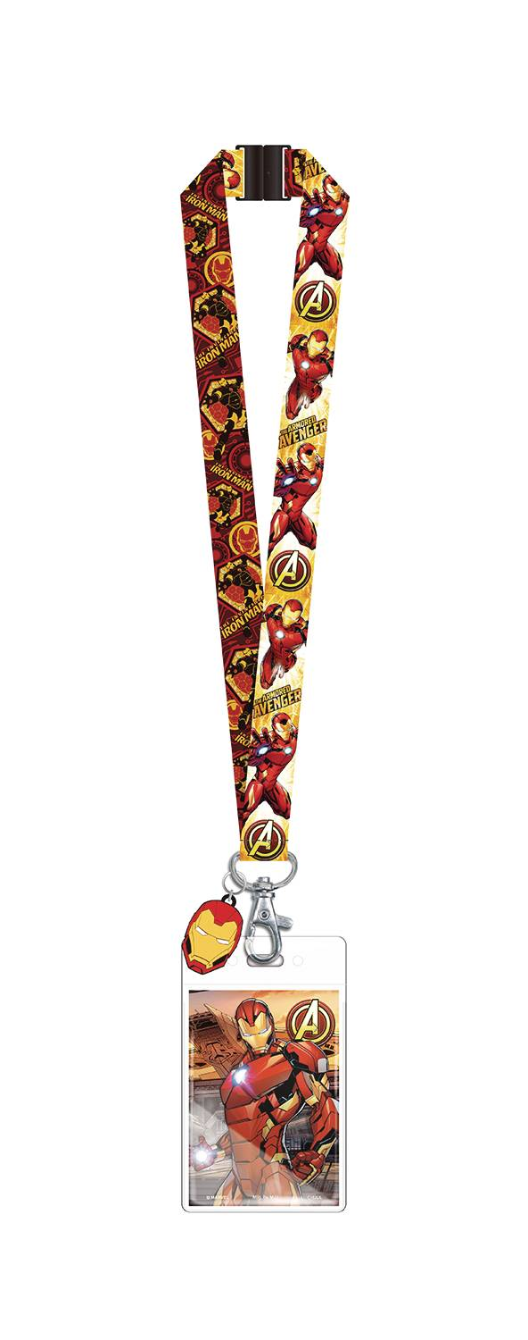 MARVEL IRON MAN LANYARD