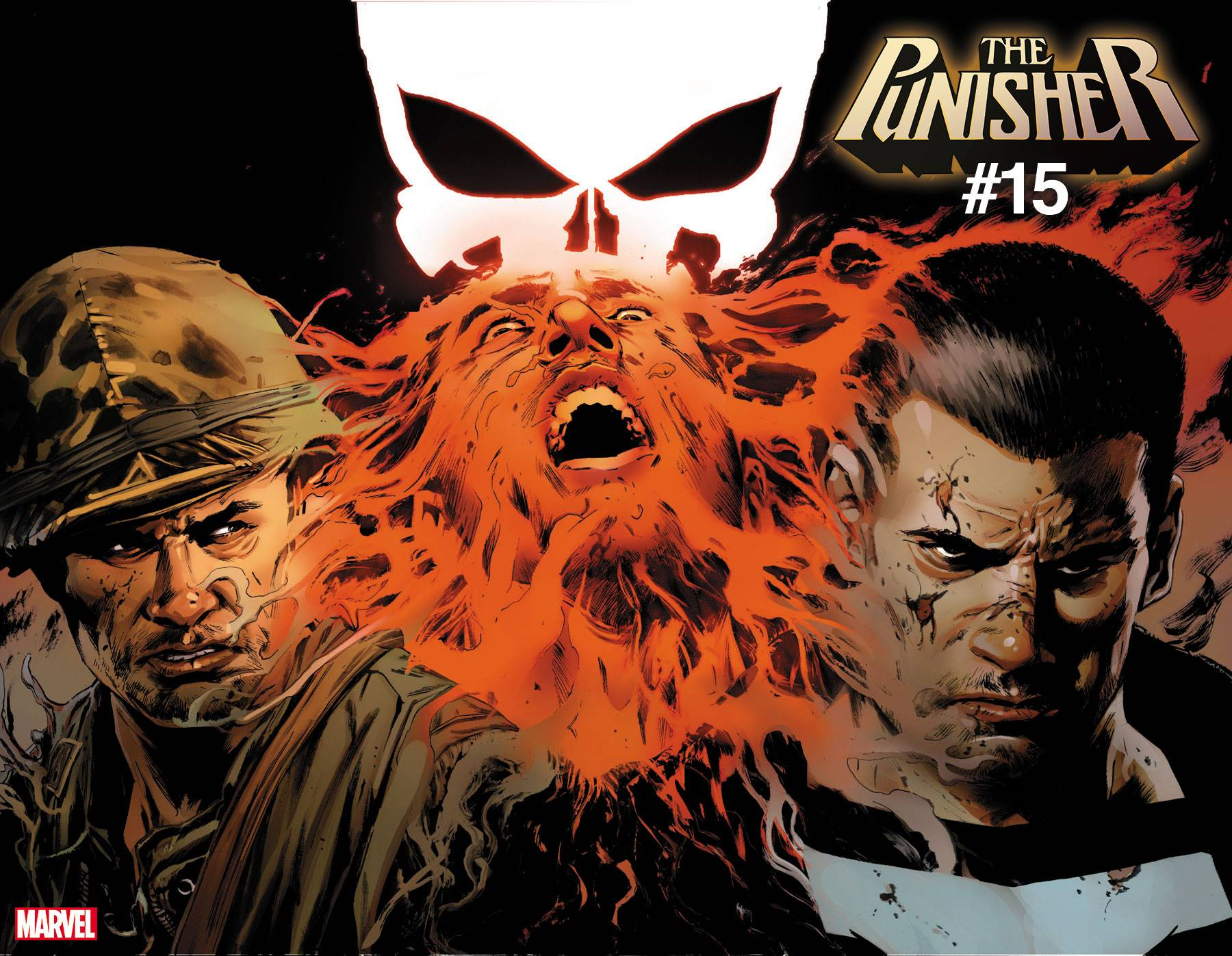 PUNISHER #15 GUICE IMMORTAL WRAPAROUND VAR