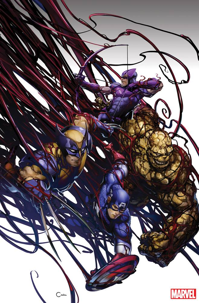 ABSOLUTE CARNAGE AVENGERS #1 VIRGIN VAR AC