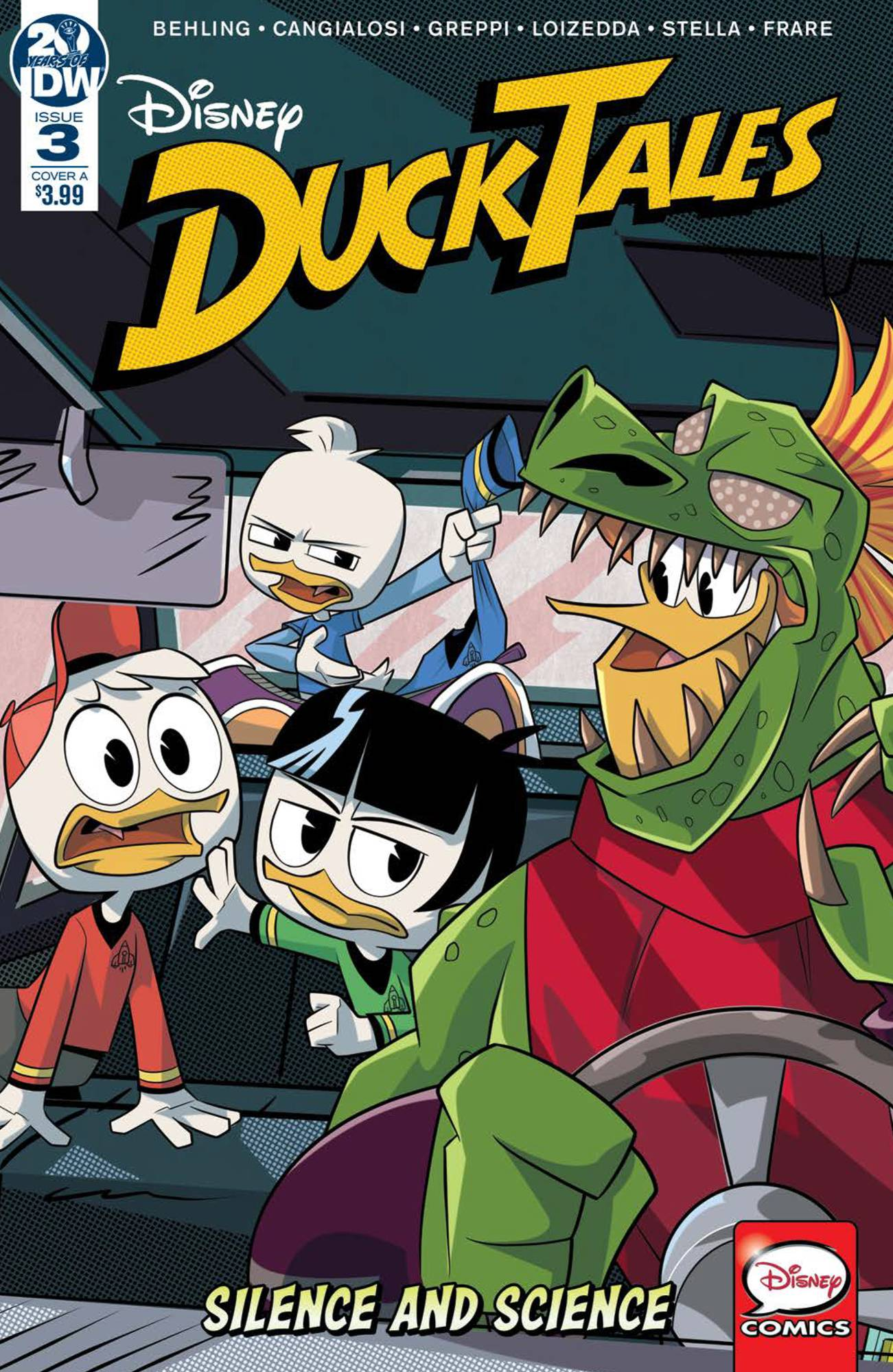 DUCKTALES SILENCE & SCIENCE #3 (OF 3) CVR A VARIOUS