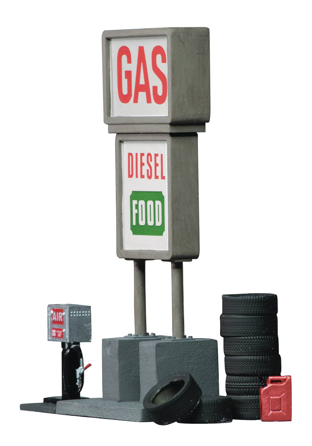 WIZKIDS 4D SETTING GAS STATION