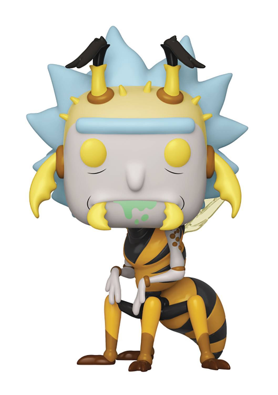 POP ANIMATION RICK & MORTY WASP RICK VINYL FIG