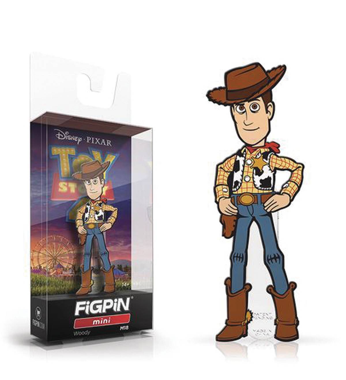 FIGPIN MINI TOY STORY 4 WOODY PIN