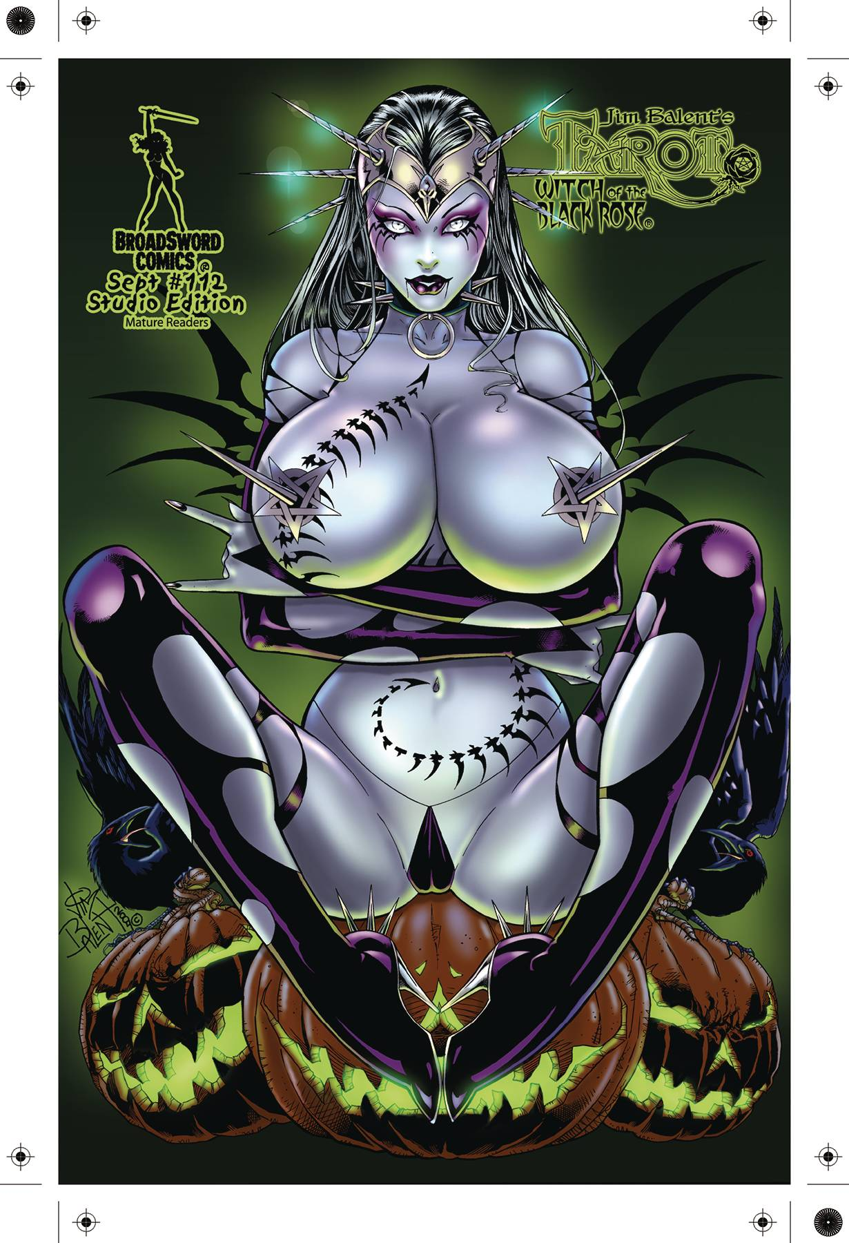 TAROT WITCH OF THE BLACK ROSE #112 STUDIO DELUXE ED (MR)